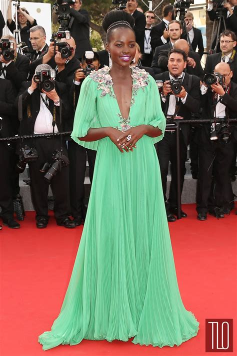 Cannes Wardrobe by Cannes 2015 Werq Lupita Nyong O In Gucci Tom Lorenzo