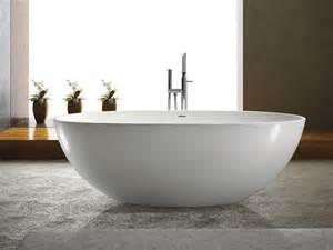 freistehende badewanne bilder freistehende badewanne piemont aus mineralguss wei 223 matt