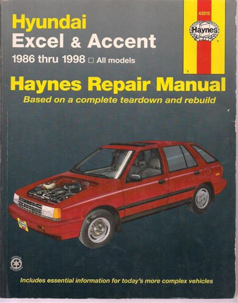 all car manuals free 1998 hyundai accent electronic valve timing find haynes repair manual hyundai excel accent 1986 thru 1998 all models motorcycle in sheridan