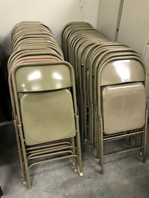 metal folding chairs madison liquidators