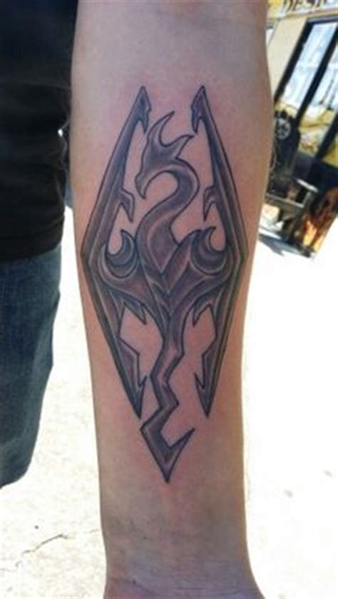 full body tattoo skyrim my skyrim inspired dragon skeleton done by luke blegen