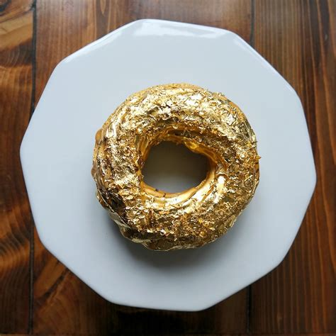 expensive donuts how badly do you want to try this 24 karat gold doughnut