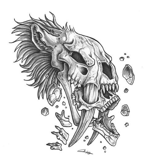 sabertooth crunch tat by cassandracanadyart on deviantart