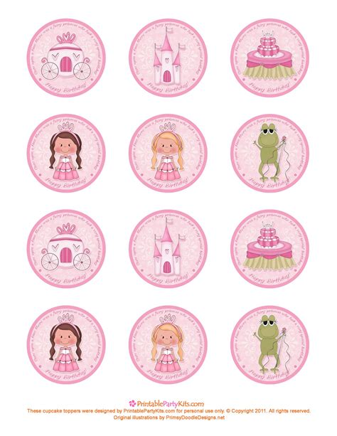 template for cupcake toppers cupcake topper template free images