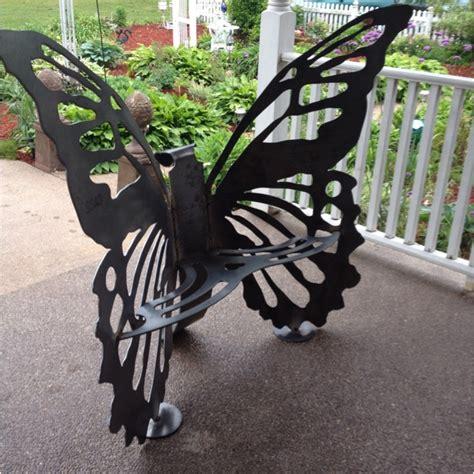 butterfly benches butterfly bench garden pinterest