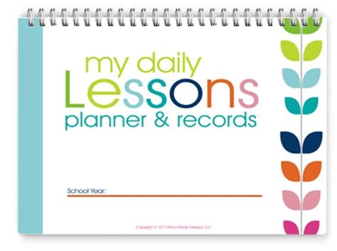 lesson planner printable free homeschool lesson planner colorful confessions of a