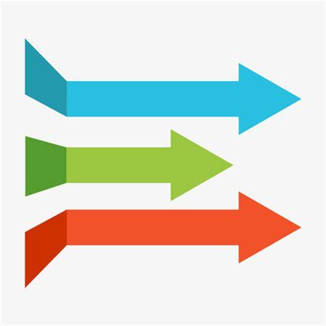 imagenes de flechas antiguas flechas de colores color flecha material archivo png y