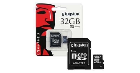 V Micro Sd 32 Gb Adapter kingston microsd 32gb sd adapter sdc10g2 32gb smart