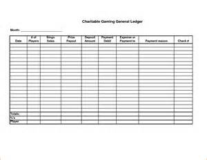printable ledger template 8 printable ledger bookletemplate org