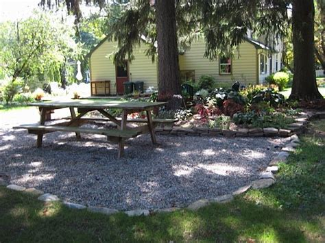 Gravel Patio Edging by Pea Gravel Patio Edging Home