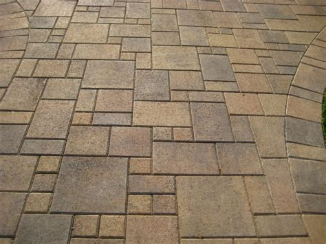 brick paver patio designs different types of paver