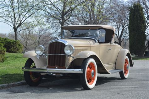 we buy any car plymouth 1931 plymouth roadster stock 20146 for sale near astoria