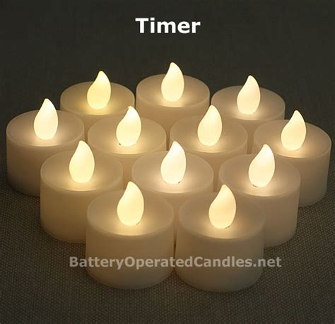 battery tea light candles flameless tea lights warm white led battery operated