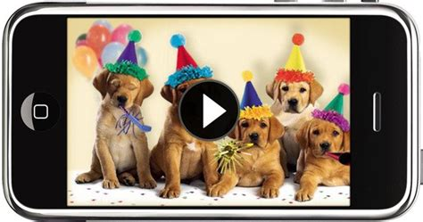 printable birthday cards with dogs like texting but with video the new york times