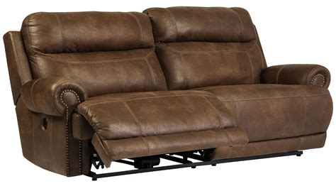 2 for 1 recliner sale austere brown reclining sofa from ashley 3840081