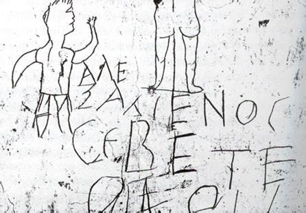 holy shit  interesting holy shit ancient graffiti