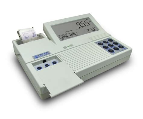 bench meter hi 122 professional ph bench meter with built in printer