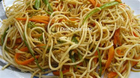 vegetarian recipes with egg noodles hakka noodles with vegetables and egg recipe