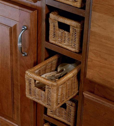 spice drawers kitchen cabinets 17 best images about wicker basket drawers 101 on