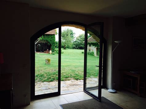 Grange Renovation by R 233 Novation D Une Grange En Alu Alu Glass