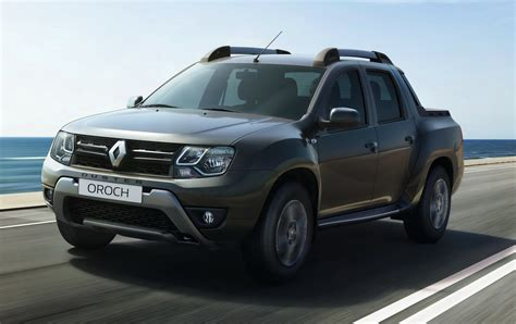 renault pickup truck this is renault s new duster oroch small pickup truck