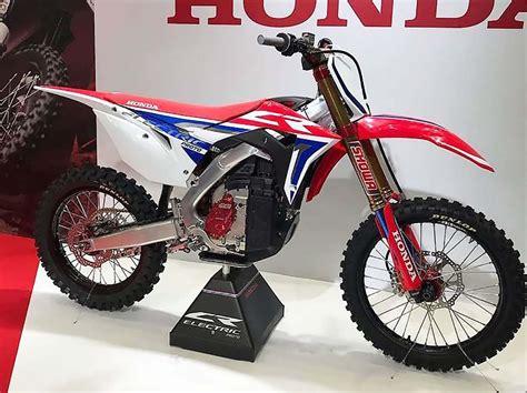 2020 Honda Dirt Bikes by Honda Debuts Electric Dirt Bike Prototype Asphalt Rubber