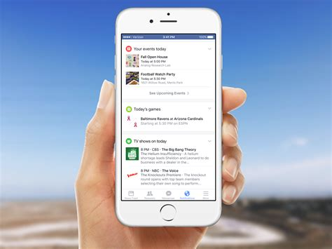 fb for mobile adds customization to notifications tab on mobile