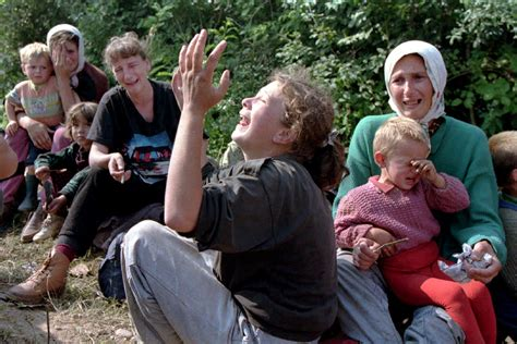 Srebrenica Photo Essay by Bosnian War Photo Essay Radovan Karadzic And The Slaughter Of Muslims At Srebrenica