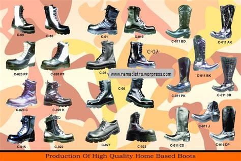 Sepatu Pdh Import ramadistro jual aneka barang perlengkapan militer tni