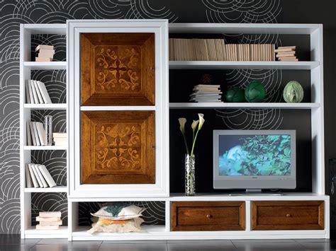 venier mobili ca venier parete attrezzata in legno massello by cantiero