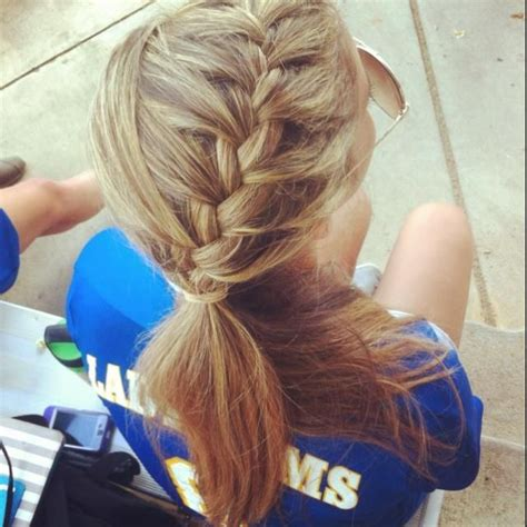 haircuts that still allow a pony tail best 25 side french braids ideas on pinterest french