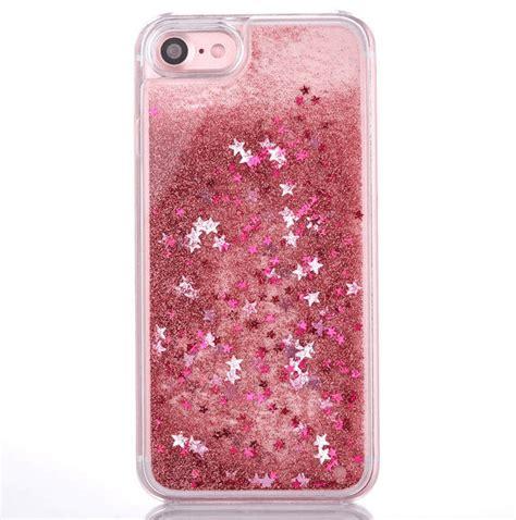 Water Glitter Iphone 7 Plus aqua hearts liquid glitter iphone 7 7plus icaseleluxe