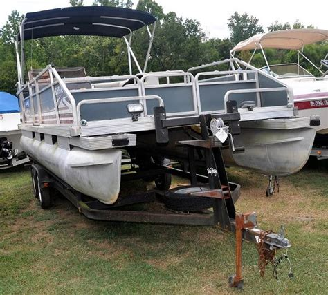 used tracker boats for sale indiana used 2009 tracker boats party barge 21 for sale in