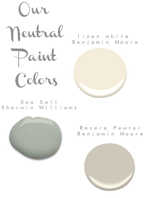our neutral paint colors home decorating diy