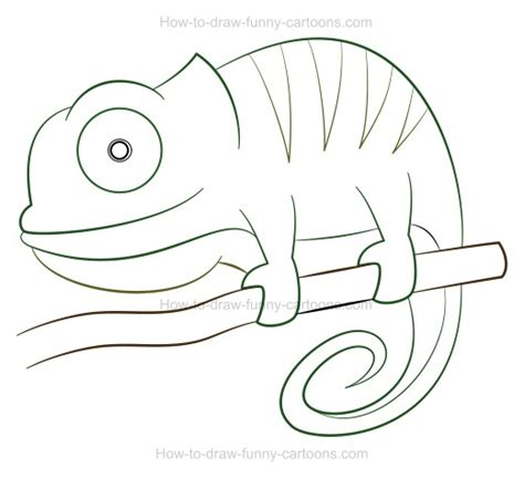 eric carle chameleon template images templates design ideas