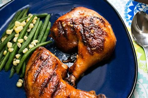 how to grill chicken leg quarters