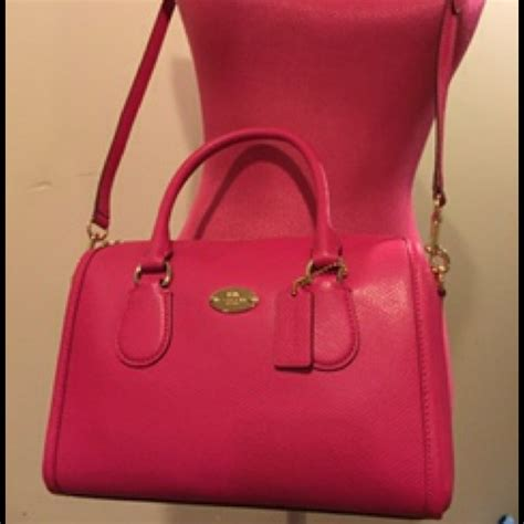 Coach Mini Bennet Nwt coach nwt authentic coach pink ruby mini from poshpurse s closet on poshmark