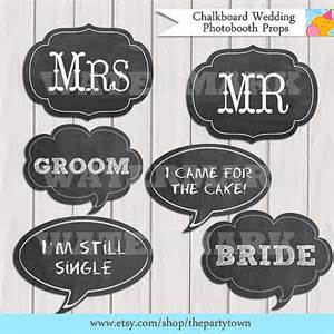 wedding photo booth props 8 best images of free printable photo booth chalkboard signs wedding free printable photo