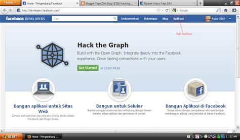 aplikasi membuat blog gratis cara membuat aplikasi facebook aplikasi fb