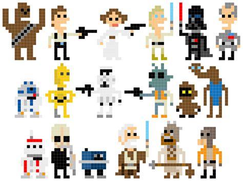 pixel wars pixel star wars welcome back to the 8 bit days bit rebels