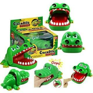 Mainan Gigi Buaya crocodile dentist mainan gigi buaya gigit buaya