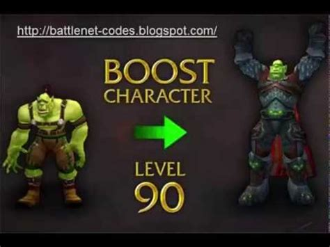 How To Search On Battlenet World Of Warcraft Level 90 Character Boost Codes
