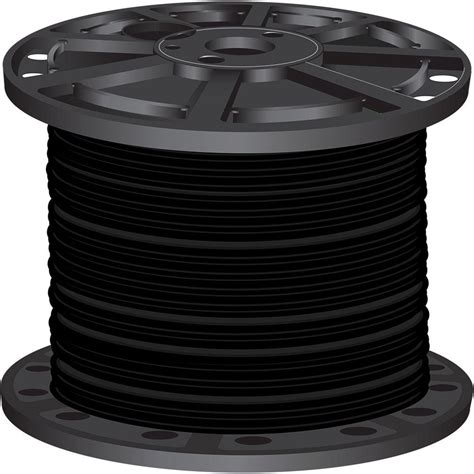 10 3 Mc Cable Stranded - southwire 1 000 ft 3 black stranded cu simpull thhn