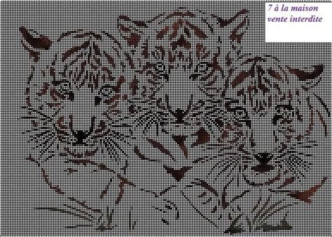Grilles Tricot by Grille Gratuite Crafts Tigers And Lions