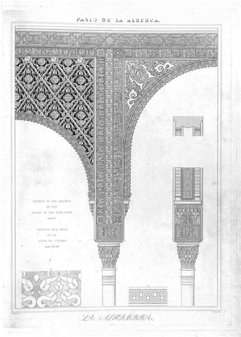 plans elevations sections and details of the alhambra 56 best images about alhambra on pinterest design design