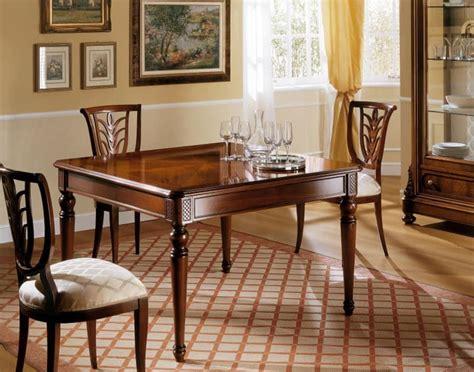 tavoli allungabili classici tavolo allungabile in stile classico intagli fatti a mano