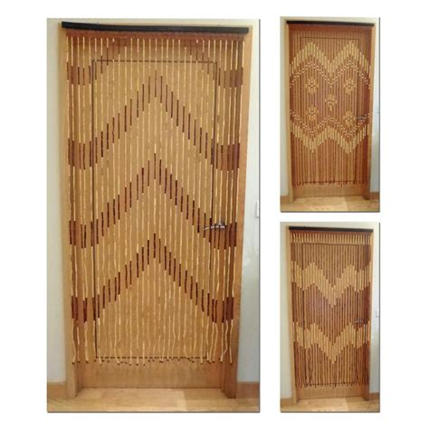 door curtains buy wooden beaded curtain screen