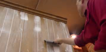 Ways To Refinish Kitchen Cabinets how to fill grooves in paneling before painting today s