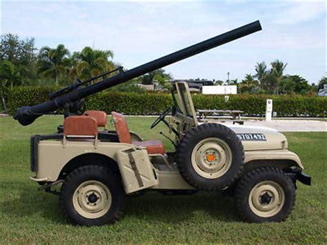 army jeep with gun jeep cj army jeep military gun jeep 106mm recoiless