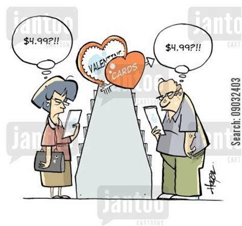 Gift Cards For Engaged Couples - valentine gift cartoons humor from jantoo cartoons